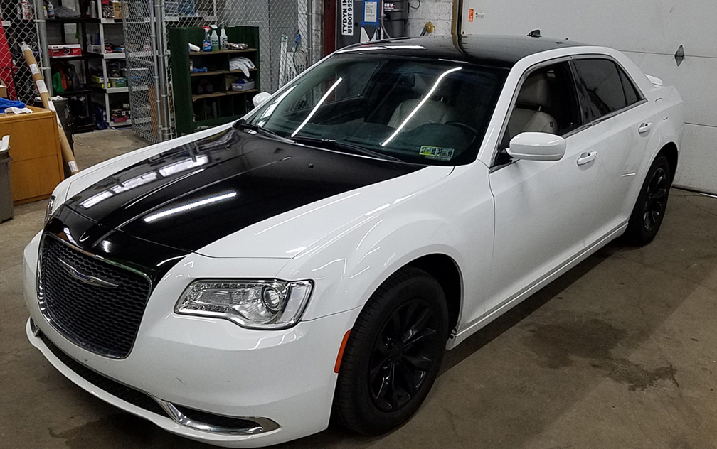 Chrysler Hood And Roof Wrap Wrapthatcar